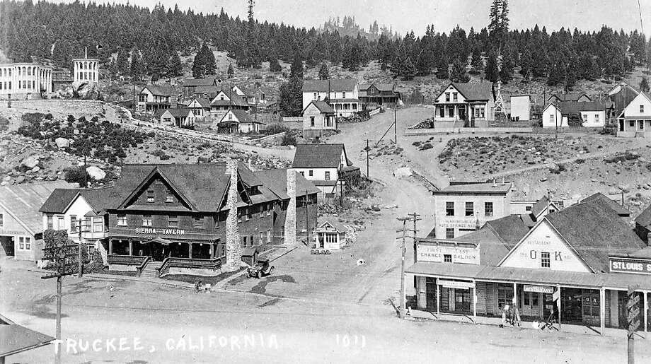 Historic photo of Truckee. Photo: Truckee Donner Historical Societ