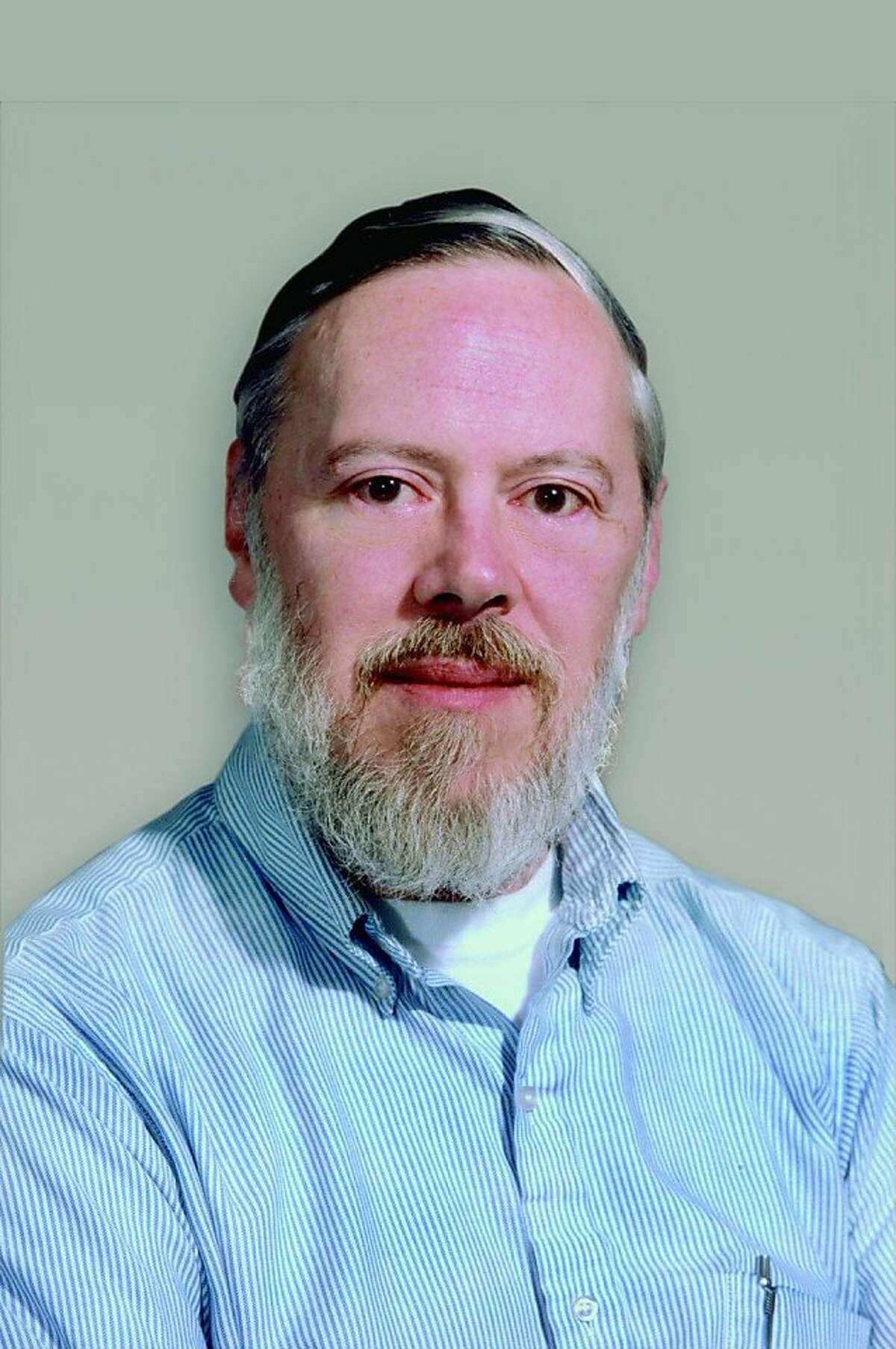 Mug shot of computer scientist Dennis Ritchie, who with Ken Thompson have been awarded a 2011 Japan Prize for Information and Communications for their work creating the UNIX computer operating system while working a researchers for Bell Labs in 1969. Ran on: 01-25-2011 Dennis Ritchie