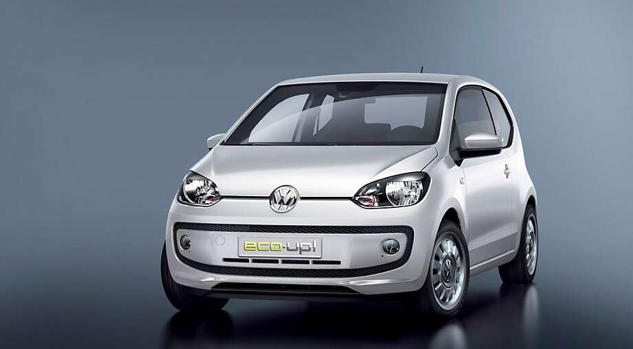 """Volkswagen's """"eco Up"""" comes with a dual-fuel EcoFuel System engine that uses both Compressed Natural Gas and gasoline. Photo: Courtesy Of Volkswagen"""
