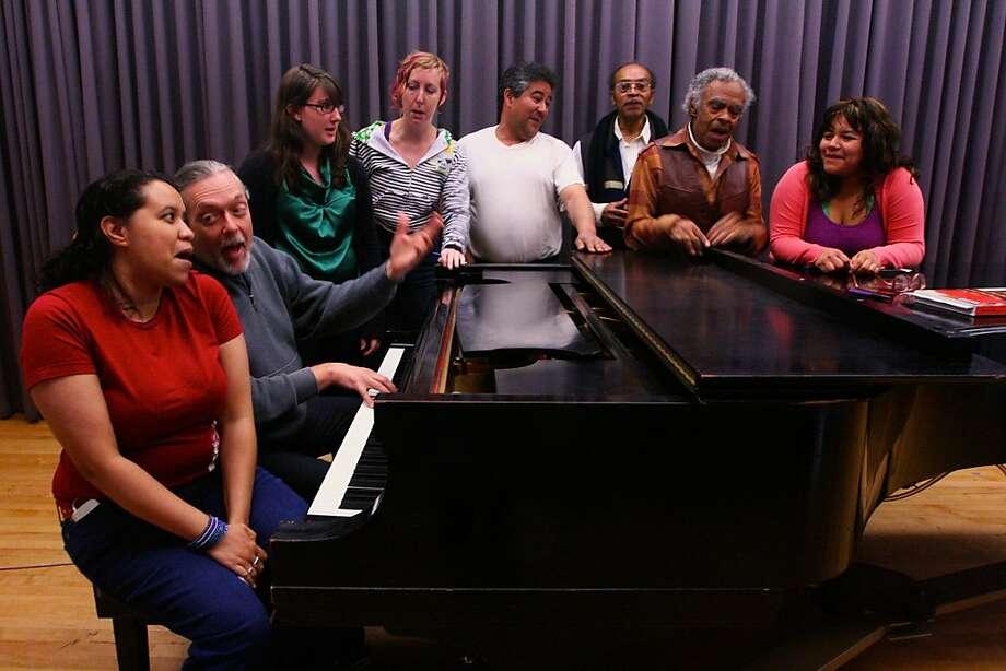 Opera and Musical Scenes Worksho Photo: Elaine Yu