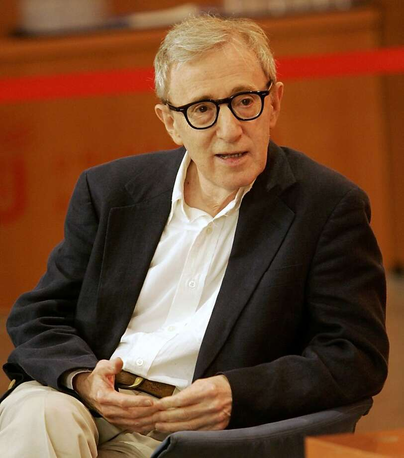 Film director Woody Allen speaks before receiving an honorary doctorate from the Pompeu Fabra Catalan university in central Barcelona June 14, 2007.   REUTERS/Gustau Nacarino  (SPAIN) Ran on: 06-23-2007 Woody Allen will direct Puccini's only comedy. Ran on: 09-07-2008 Ewan McGregor and Hayley Atwell in &quo;Cassandra's Dream&quo;: not Woody Allen's best. Ran on: 12-05-2008 Veronica Klaus will serenade the crowd at the annual Tree of Hope lighting ceremony Tuesday at City Hall in San Francisco. Photo: Gustau Nacarino, Reuters 2007