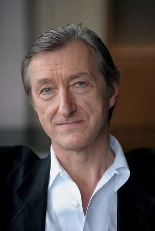 Julian Barnes LIVERPOOL HOPE UNIVERSITY Photo: Alan Edwards