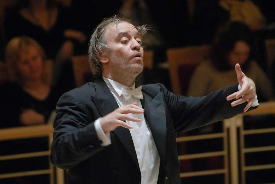 Conductor Valery Gergiev   Ran on: 03-24-2010 Valery Gergiev has molded Mariinsky Orchestra to his style. Photo: San Francisco Symphony