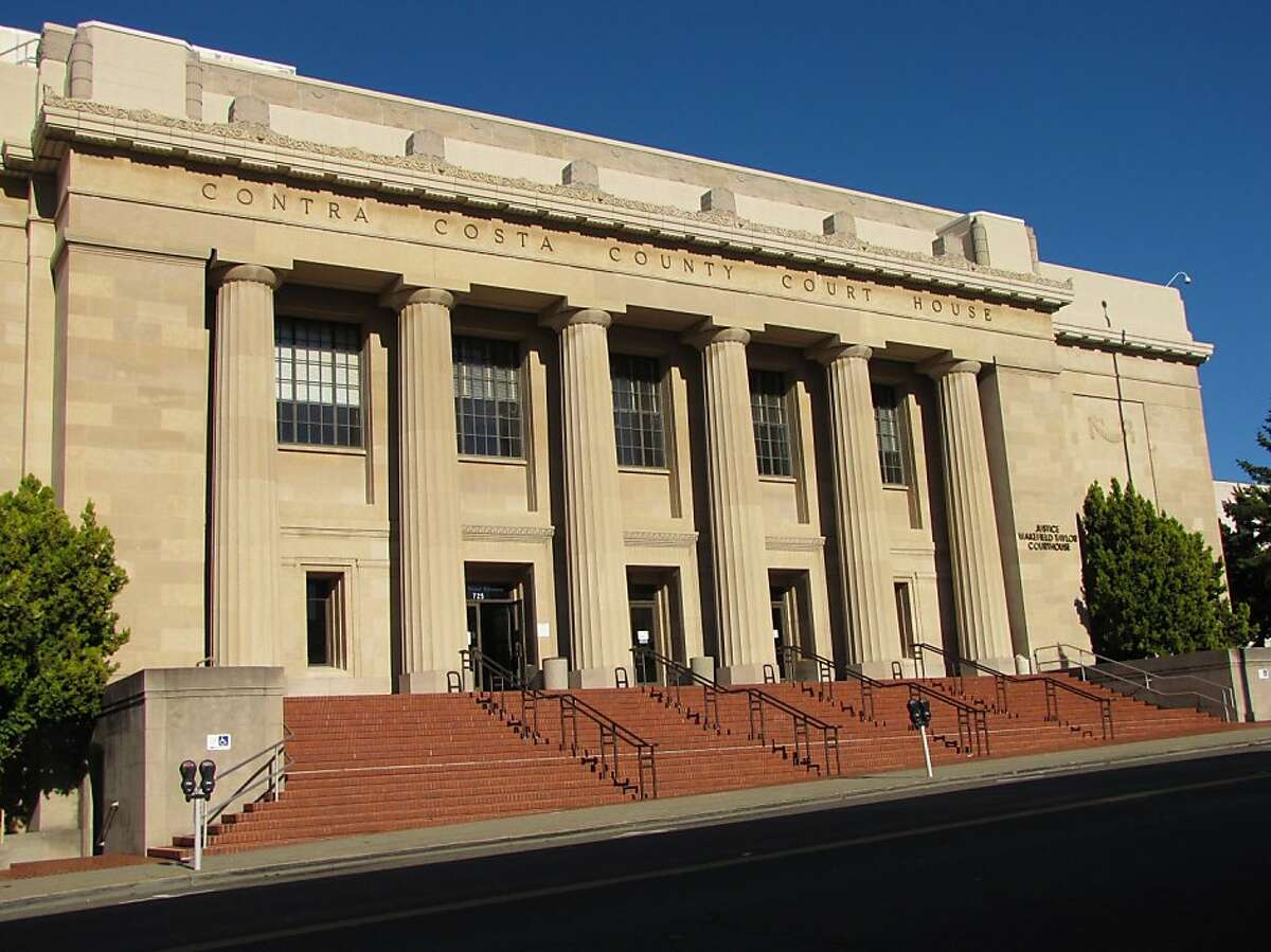 The Contra Costa County Courthouse was featured in the film