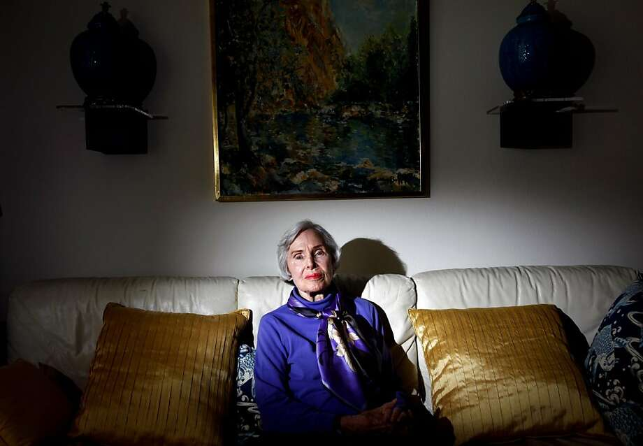 Harriett Stinson, 85, hopes that by going public with her story of an illegal abortion in her 20's, she can convince others to do the same and raise awareness about the need to keep abortions legal.  Stinson, the founder of Republican Women for Choice and a pioneer in the abortion rights movement, is worried about the Republican push against reproductive rights.  She is photographed at her home in San Mateo, Calif., Tuesday, October 11, 2011.   Ran on: 10-13-2011 A GOP push to cut family planning funds prompted Harriet Stinson to tell her story and urge other women to do the same. Ran on: 10-13-2011 A GOP push to cut family planning funds prompted Harriet Hills Stinson to tell her story and urge other women to do the same. Photo: Sarah Rice, Special To The Chronicle