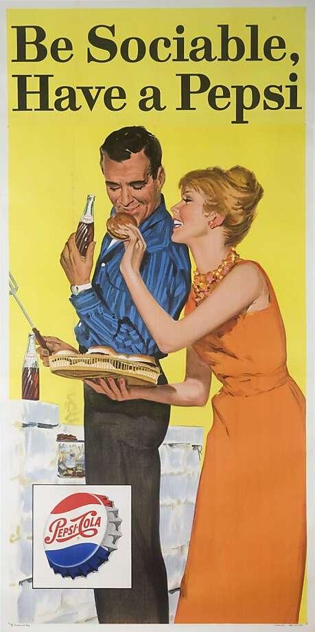 Pepsi poster for Poster Fair Photo: Winger Marketing