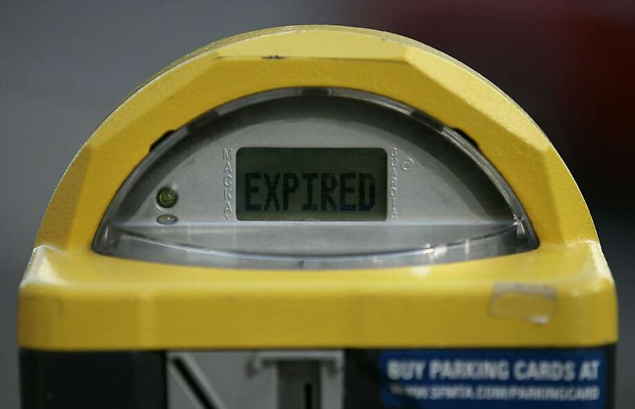 SAN FRANCISCO, CA - JANUARY 21:  A parking meter is shown as expired on January 21, 2011 in San Francisco, California. In an effort to eliminate a projected $21.2 million budget deficit by June 30, the San Francisco Municipal Transportation Agency has ordered parking and traffic officers to write more parking tickets and plans to reduce employee overtime. San Francisco's parking fines are the most expensive of all big cities in the U.S.  (Photo by Justin Sullivan/Getty Images)  Ran on: 01-28-2011 Photo caption Dummy text goes here. Dummy text goes here. Dummy text goes here. Dummy text goes here. Dummy text goes here. Dummy text goes here. Dummy text goes here. Dummy text goes here.###Photo: letters28_parking1295395200Getty Images North America###Live Caption:SAN FRANCISCO, CA - JANUARY 21:  A parking meter is shown as expired on January 21, 2011 in San Francisco, California. In an effort to eliminate a projected $21.2 million budget deficit by June 30, the San Francisco Municipal Transportation Agency has ordered parking and traffic officers to write more parking tickets and plans to reduce employee overtime. San Francisco's parking fines are the most expensive of all big cities in the U.S.###Caption History:SAN FRANCISCO, CA - JANUARY 21:  A parking meter is shown as expired on January 21, 2011 in San Francisco, California. In an effort to eliminate a projected $21.2 million budget deficit by June 30, the San Francisco Municipal Transportation Agency has ordered parking and traffic officers to write more parking tickets and plans to reduce employee overtime. San Francisco's parking fines are the most expensive of all big cities in the U.S.  (Photo by Justin Sullivan-Getty Images)###Notes:City Of San Francisco To Increase Number Of Parking Tickets To Aid Budget Deficit###Special Instructions: Photo: Justin Sullivan, Getty Images
