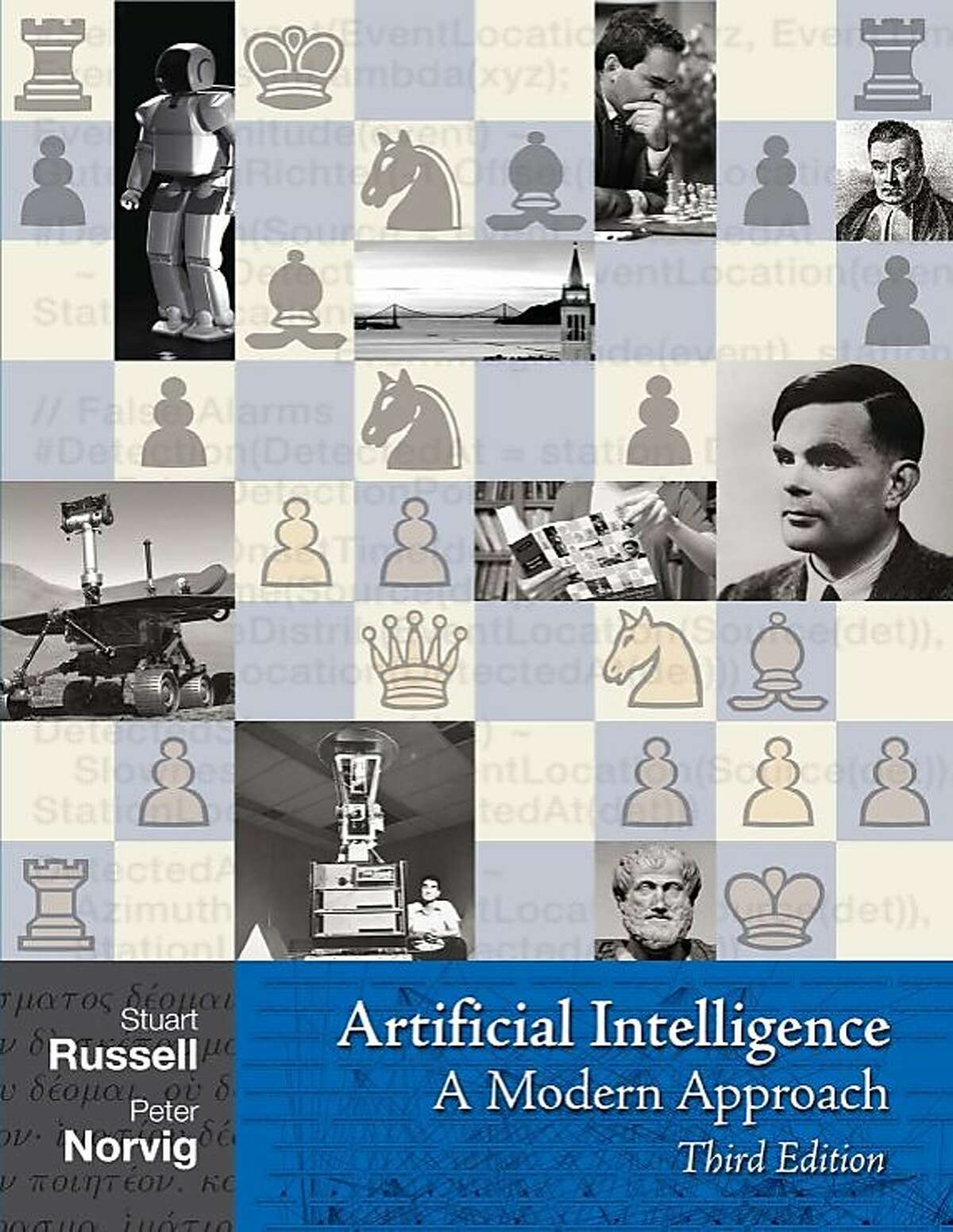 Artificial Intelligence: A Modern Approach (Third edition) by Stuart Russell and Peter Norvig
