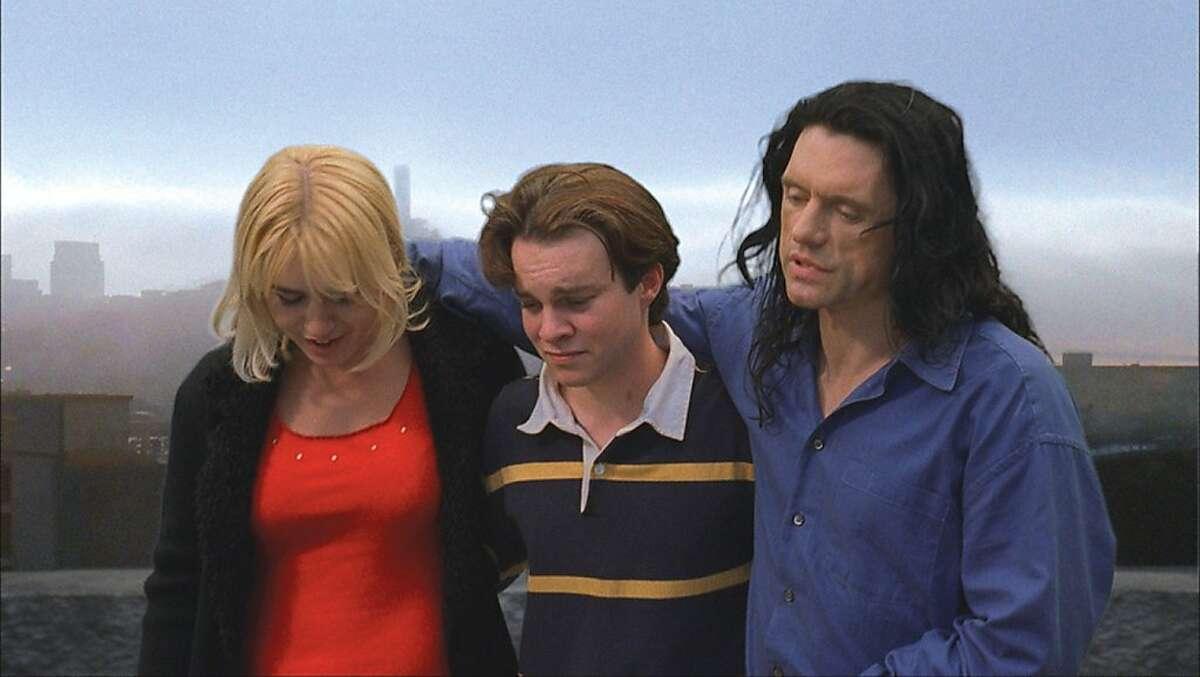 Juliette Danielle, Greg Sestero, and Tommy Wiseau in