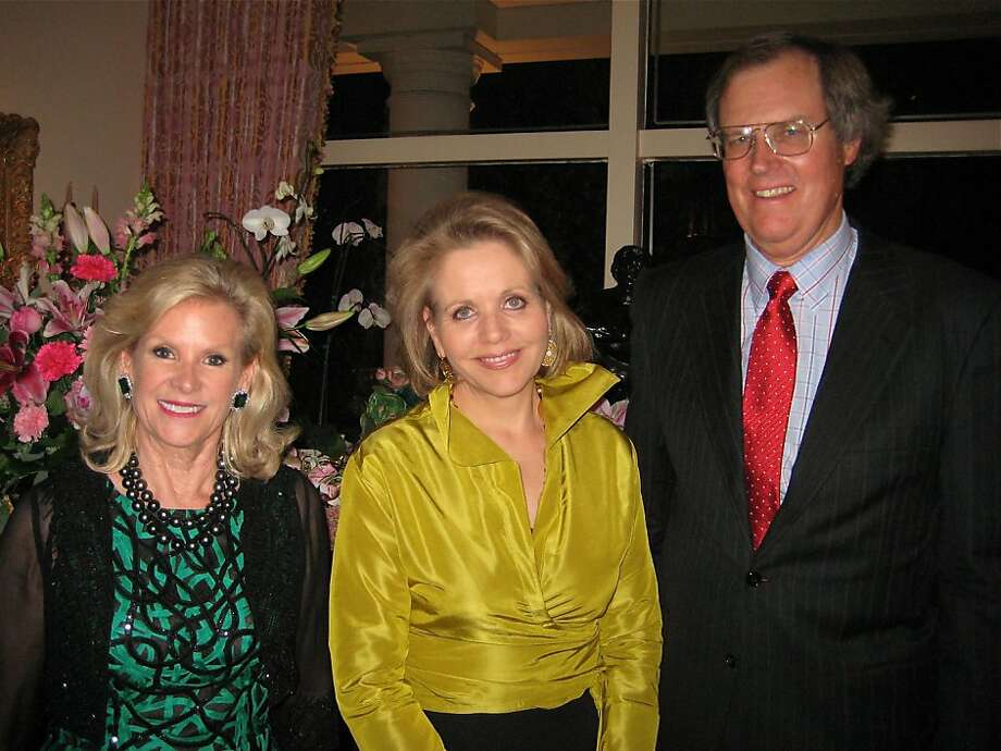 Dede Wilsey (left) with Renee Fleming and SF Opera Board President George Hume. Oct 2011. By Catherine Bigelow. Photo: Catherine Bigelow, Special To The Chronicle