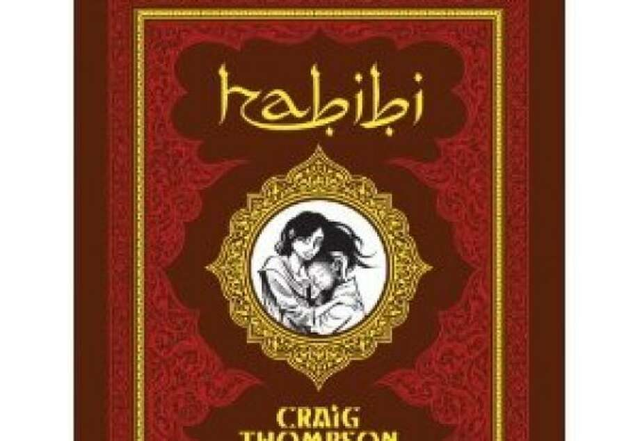 "Craig Thompson's graphic novel ""Habibi"" is reviewed in words and pictures by Michael Cavna. Illustrates HABIBI (category e), by Michael Cavna (c) 2011, The Washington Post. Moved Thursday, Oct. 6, 2011. (MUST CREDIT: Handout.)  Ran on: 10-16-2011 Photo caption Dummy text goes here. Dummy text goes here. Dummy text goes here. Dummy text goes here. Dummy text goes here. Dummy text goes here. Dummy text goes here. Dummy text goes here.###Photo: habibi16_ph1317772800The Washington Post###Live Caption:Craig Thompson's graphic novel ""Habibi"" is reviewed in words and pictures by Michael Cavna. Illustrates HABIBI (category e), by Michael Cavna (c) 2011, The Washington Post. Moved Thursday, Oct. 6, 2011. (MUST CREDIT: Handout.)###Caption History:Craig Thompson's graphic novel ""Habibi"" is reviewed in words and pictures by Michael Cavna. Illustrates HABIBI (category e), by Michael Cavna (c) 2011, The Washington Post. Moved Thursday, Oct. 6, 2011. (MUST CREDIT: Handout.)###Notes:HABIBI###Special Instructions: Ran on: 10-16-2011 Photo caption Dummy text goes here. Dummy text goes here. Dummy text goes here. Dummy text goes here. Dummy text goes here. Dummy text goes here. Dummy text goes here. Dummy text goes here.###Photo: habibi16_ph1317772800The Washington Post###Live Caption:Craig Thompson's graphic novel ""Habibi"" is reviewed in words and pictures by Michael Cavna. Illustrates HABIBI (category e), by Michael Cavna (c) 2011, The Washington Post. Moved Thursday, Oct. 6, 2011. (MUST CREDIT: Handout.)###Caption History:Craig Thompson's graphic novel ""Habibi"" is reviewed in words and pictures by Michael Cavna. Illustrates HABIBI (category e), by Michael Cavna (c) 2011, The Washington Post. Moved Thursday, Oct. 6, 2011. (MUST CREDIT: Handout.)###Notes:HABIBI###Special Instructions: Photo: Post, Washington Post"