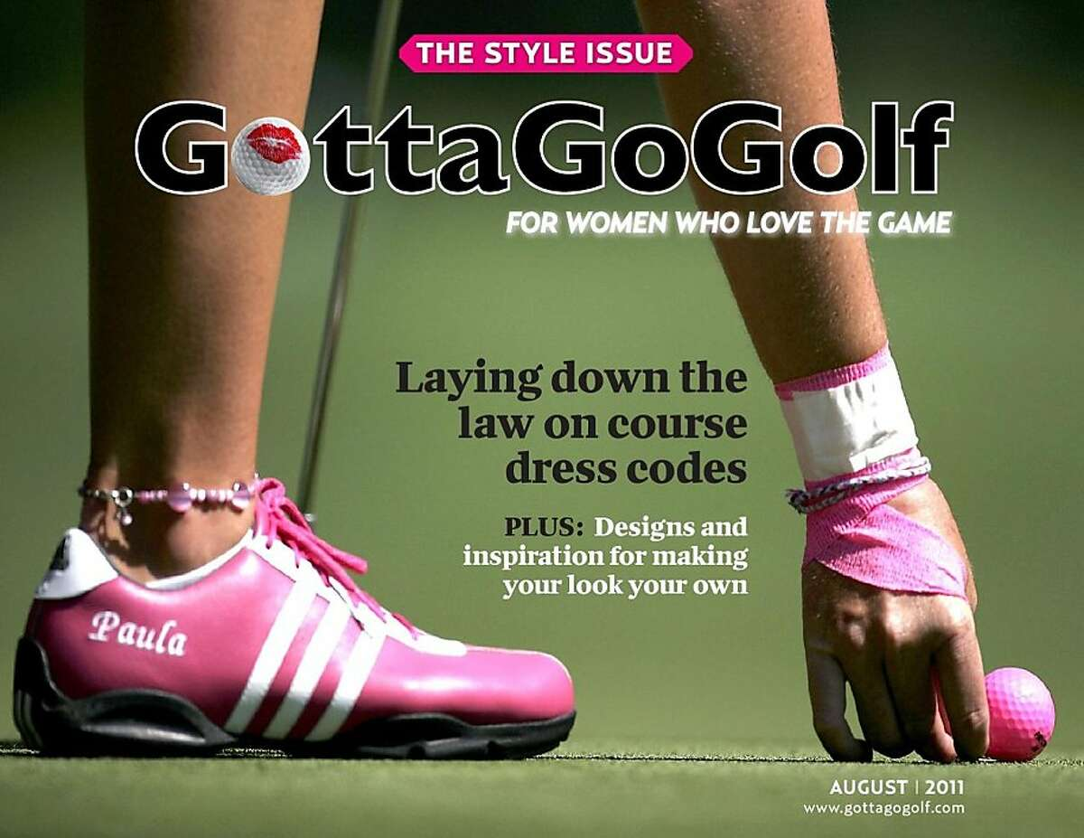 cover of GottaGoGolf's August 2011 Style issue