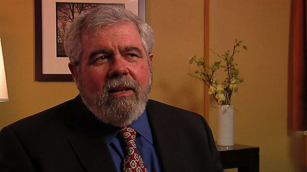 David Cay JOhnston who was featured in the movie Heist showing at Mill Valley Film Festival