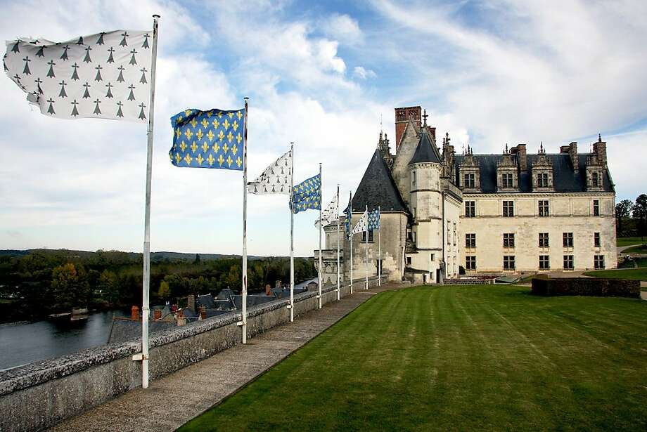 The Château d'Amboise, home to several French kings, was built on a strategic site next to the Loire River. Photo: Pat O'Connor