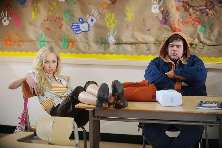 Jeremy Dozier as Clarke and Juno Temple as Danielle in Abe Sylvia's film DIRTY GIRL   DSC_0499.JPG  JUNO TEMPLE and JEREMY DOZIER star in DIRTY GIRL Photo: David Moir, Weinstein Co.