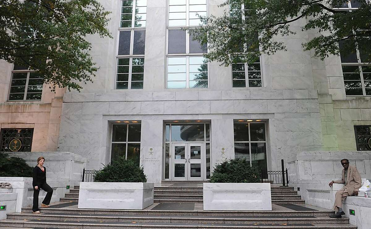The Saudi Embassy in Washington, D.C., is seen on Tuesday, October 11, 2011. An elaborate Iranian-backed plot to assassinate the Saudi ambassador to the United States was disrupted by FBI and DEA agents, officials said Tuesday. (Olivier Douliery/Abaca Press/MCT)