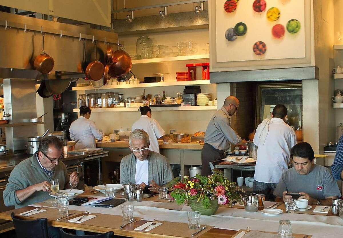 Brunch at Boulette's Larder in San Francisco, Calif., is seen on Sunday, October 2, 2011.