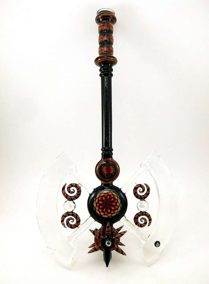 """""""Head Axe"""" by Koji, part of """"For Tobacco Use Only."""" Photo: Courtesy Of The Artist"""