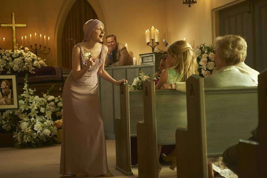 Patricia Clarkson stars as ÒMiaÓ in the new Lifetime Original Movie Five, premiering Monday, October 10, at 9:00pm ET/PT on Lifetime Television. Photo: Gemma LaMana, Lifetime