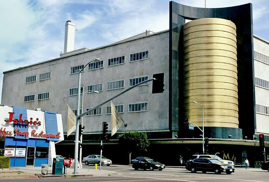 In this Oct 19, 2003 photo, the former May Co. department store, built in 1939, is shown in Los Angeles. The Academy Awards  and the Los Angeles County Museum of Art (LACMA) have teamed up to convert the May building, owned by LACMA, into a movie museum. (AP Photo/Los Angeles Times, Anne Cusack) MANDATORY CREDIT Photo: Anne Cusack, AP