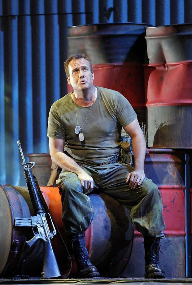 """William Burden as Dan Hill in """"Heart of a Soldier"""" at San Francisco Opera Photo: Cory Weaver"""