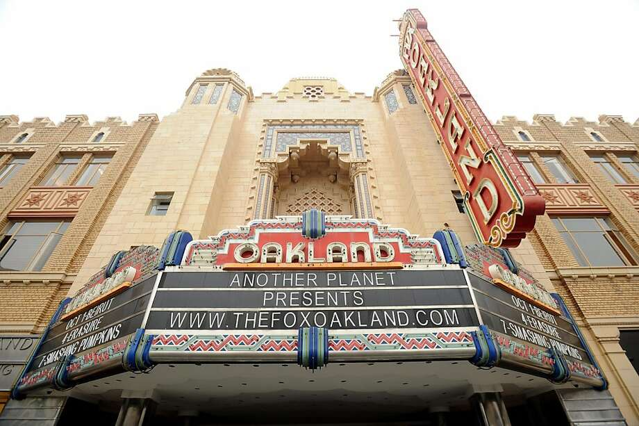 The Fox Theater is pictured on Monday, Oct. 3, 2011, in Oakland, Calif. Photo: Noah Berger, Special To The Chronicle