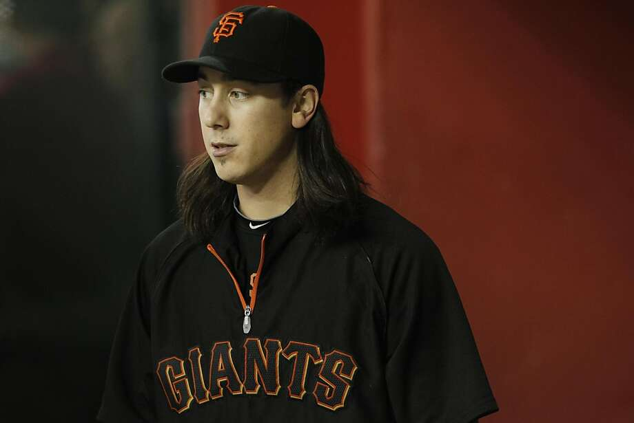 San Francisco Giants' Tim Lincecum paces in the dugout during a baseball game against the Arizona Diamondbacks Saturday, Sept. 24, 2011, in Phoenix.  The Diamondbacks defeated the Giants 15-2. (AP Photo/Ross D. Franklin) Photo: Ross D. Franklin, AP
