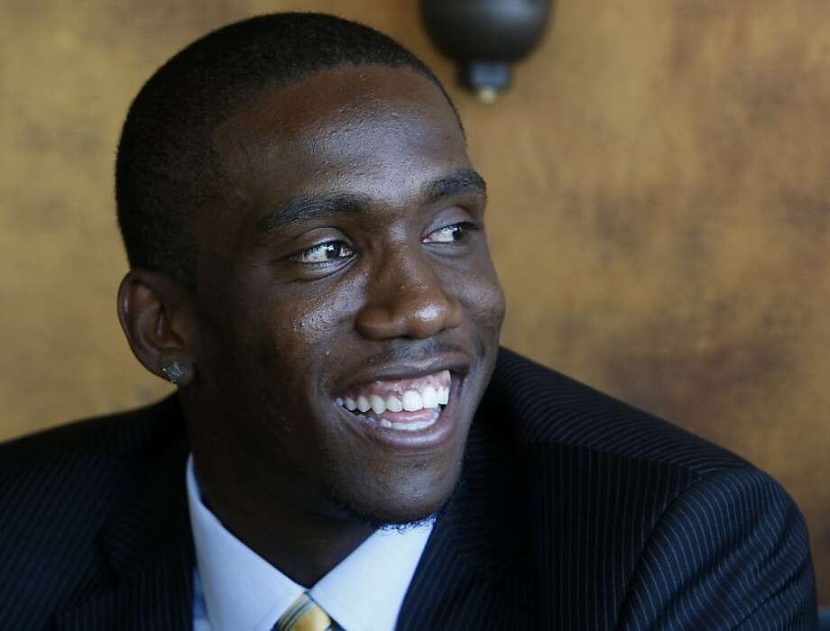 Tampa Bay Buccaneers quarterback Josh Johnson recalls his experience with 49ers head coach Jim Harbaugh, who coached Johnson at the University of San Diego, in San Francisco, Calif. on Thursday, July 7, 2011. Johnson likes the idea of playing for Harbaugh and the 49ers some time in the future. Photo: Paul Chinn, The Chronicle