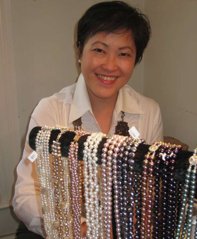 Darien resident Grace Lau from The Lady Ming will sell her jewelry at the DCA's Holiday Boutique. Photo: Contributed Photo