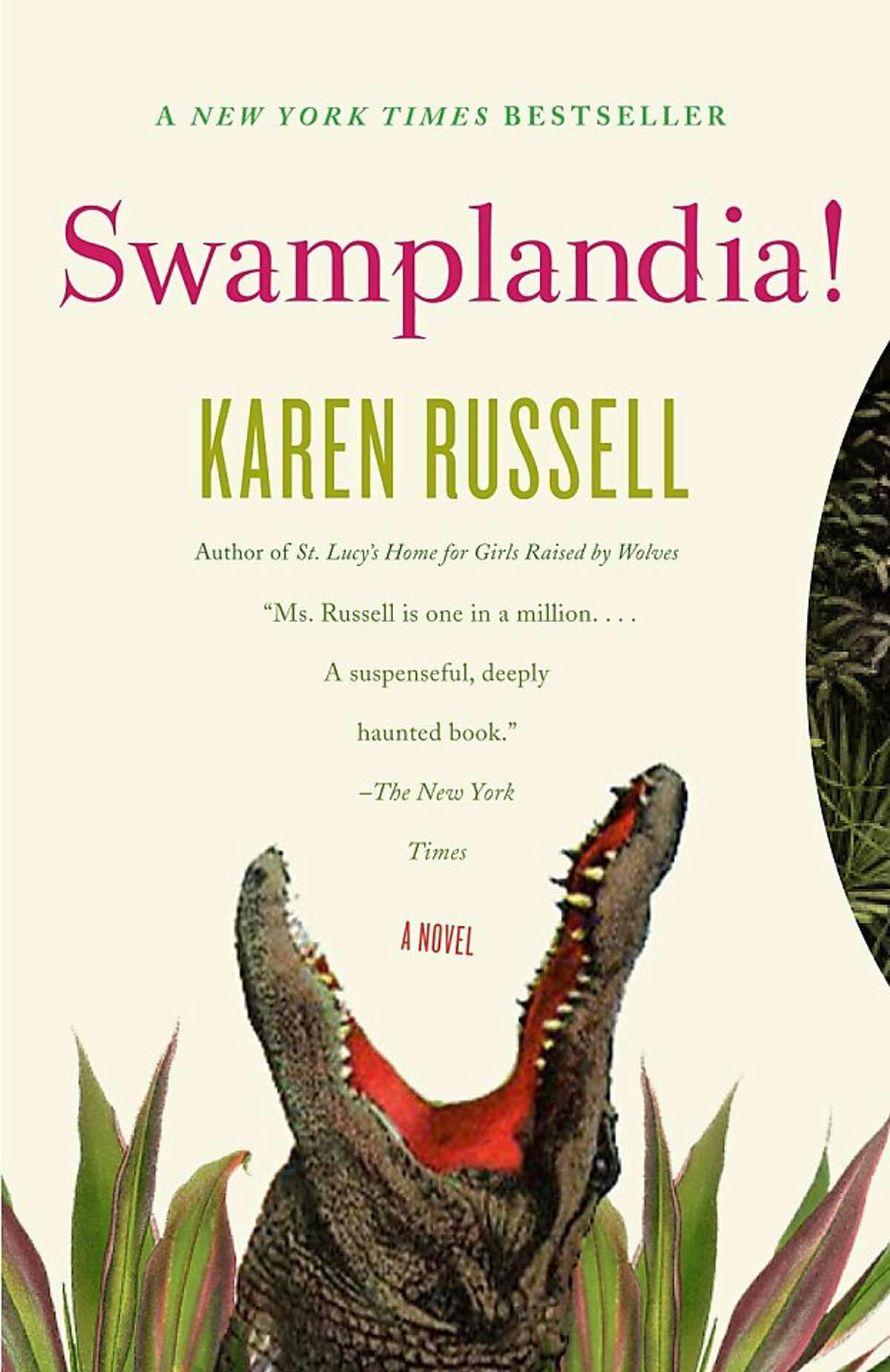 Karen Russell's debut novel about a 13-year-old alligator wrestler trying to save her family's rundown theme park has made a big splash.