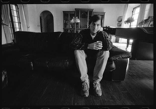 Apple co-founder Steve Jobs poses for a portrait on September 21,  1985 Photo: Steve Ringman, SF Chronicle File