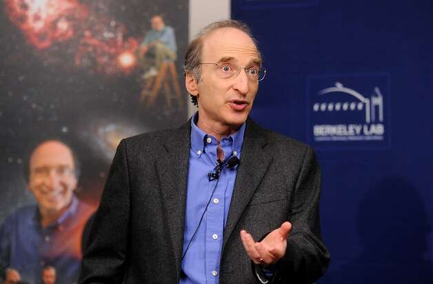 Saul Perlmutter, a UC Berkeley physics professor who was awarded the Nobel Prize in physics today, discusses his research on Tuesday, Oct. 4, 2011, in Berkeley, Calif. Photo: Noah Berger, Special To The Chronicle