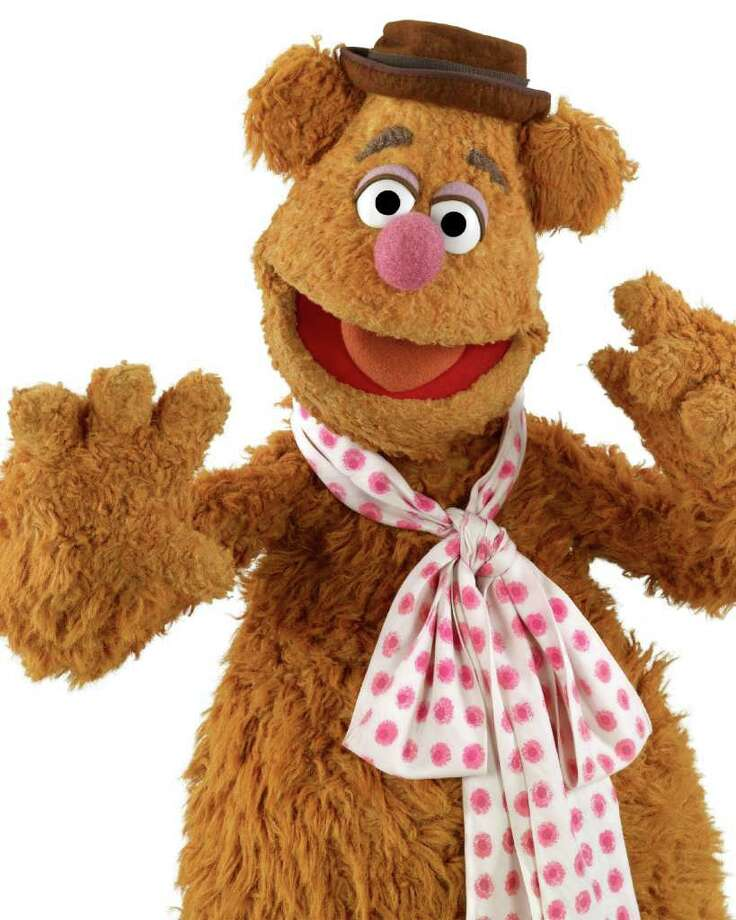Here's Fozzie Bear. His fuzzy, mussed-up look just screams crazy. Photo: John E. Barrett / ©Disney Enterprises, Inc. All Rights Reserved.