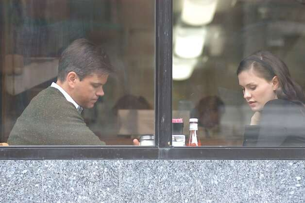Anna Paquin as Lisa Cohen and Matt Damon as Mr. Aaron in MARGARET Photo: Myles Aronowitz, Fox Searchlight