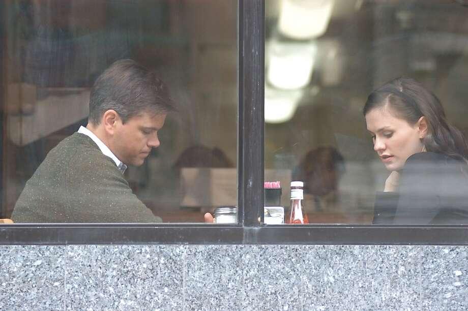 Anna Paquin as Lisa Cohen and Matt Damon as Mr. Aaron in MARGARET Photo: Myles Aronowitz, Fox Searchlight