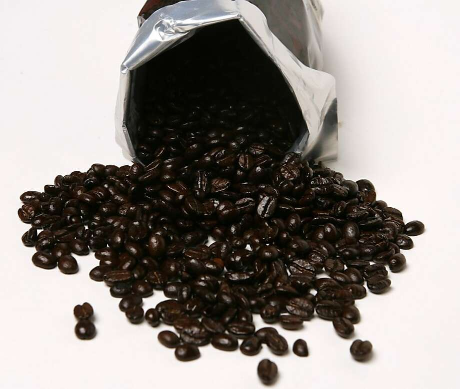 Coffee beans in San Francisco, Calif. on Thursday, June 29, 2006. PAUL CHINN/The Chronicle STYLED BY AMANDA BOWMAN Ran on: 10-22-2008 Photo: Paul Chinn, The Chronicle