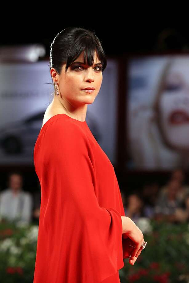 Actress Selma Blair arrives for the premiere of the film Dark Horse at the 68th edition of the Venice Film Festival in Venice, Italy, Monday, Sept. 5, 2011. (AP Photo/Joel Ryan) Photo: Joel Ryan, AP