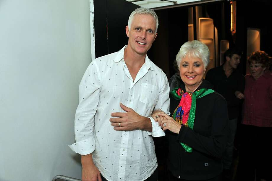 Patrick Cassidy with his mom Shirley Jones at Help Is On The Way XVII, a benefit for the Richmond/Ermet AIDS Foundation on Aug. 21 at Herbst Theatre in San Francisco. Photo: Joseph Driste