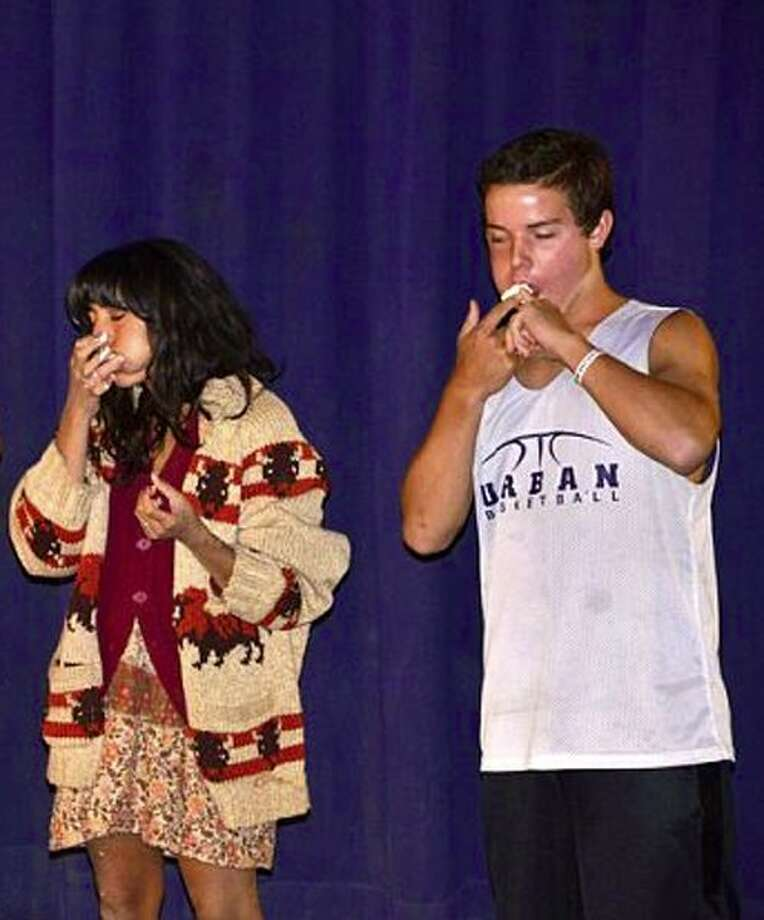 Chubby Bunny eating competition Photo: Kevin Bobrowsky
