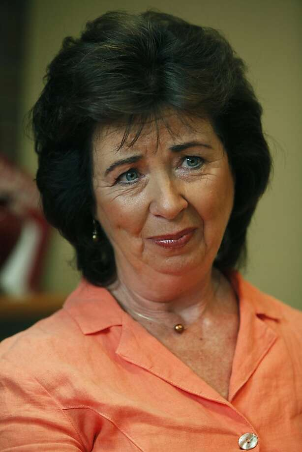 Rose Ann DeMoro, who has been recognized as one of the country's most aggressive -- and creative -- labor leaders in the country. DeMoro heads the 80,000 member California Nurses Association, and is at odds with GOP gubernatorial candidate Meg Whitman, and Governor Arnold Schwarzenegger on a verity of issues Wednesday June 30, 2010.  Ran on: 10-03-2011 Rose Ann DeMoro, nurses union executive director Photo: Lance Iversen, The Chronicle