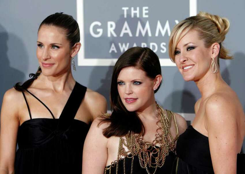 Charlie Robison and Emily Robison (left, a member of the Dixie Chicks), filed for divorce on June 8, 2008.