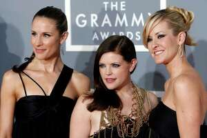ASSOCIATED PRESS FILE PHOTO RECOGNITION: The Dixie Chicks, Emily Robison,  from left, Natalie Maines and Martie Maguire, earned five Grammy Awards for their album Taking the Long Way.