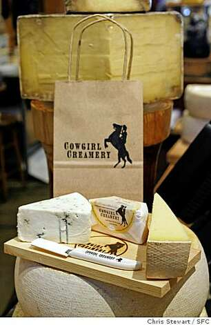 Cheeses from Cowgirl Creamery in Point Reyes. Photo: Chris Stewart, SFC