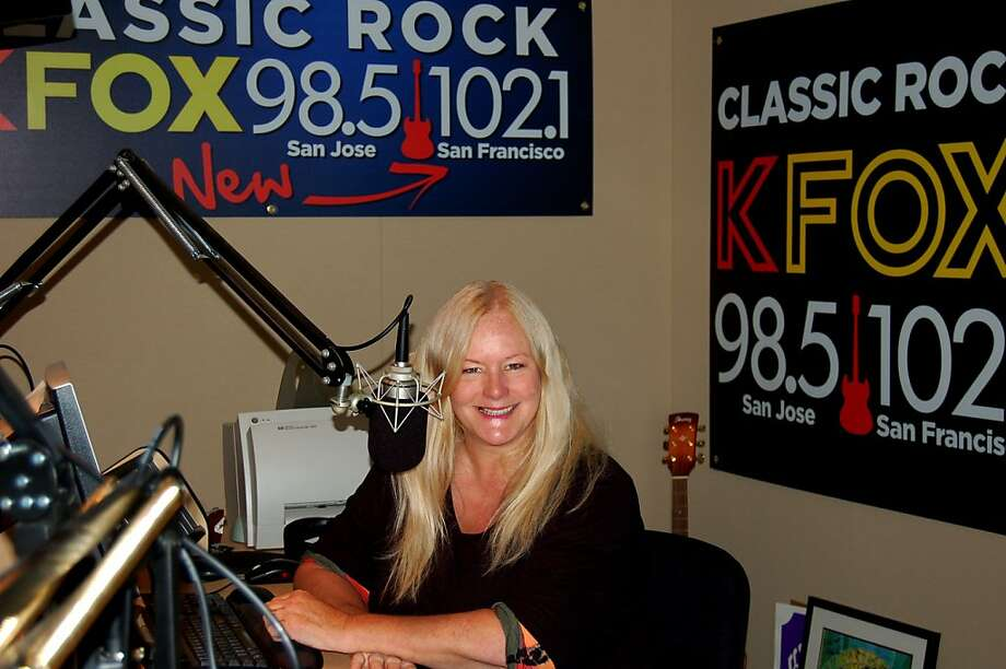 Laurie Roberts of KUFX (KFox) taken by program director Larry Sharp.   Ran on: 07-24-2011 Laurie Roberts of KUFX, who had lost her DJ job in 2009, was recently rehired by new program director Larry Sharp. Photo: Larry Sharp