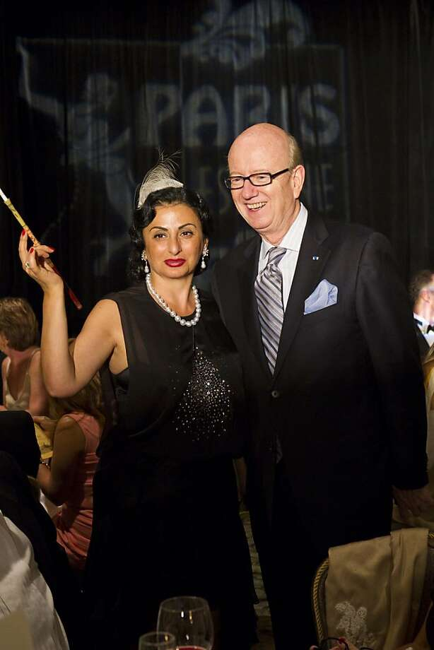 Ezmeralda Azan and Tom Horn, Honorary Consul General to Monaco. Sept. 2011. By Drew Altizer Photo: Drew Altizer, Special To The Chronicle