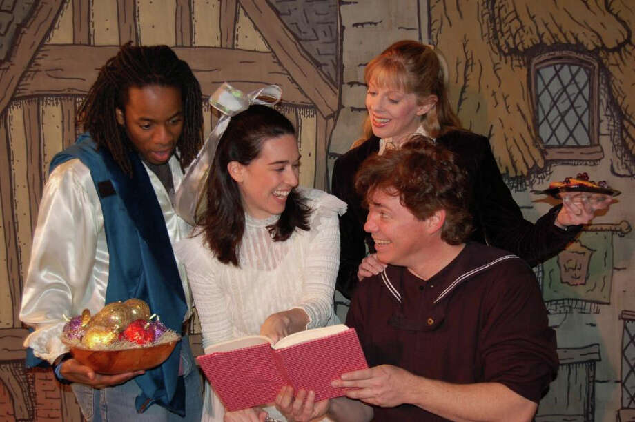 """Cast of the Pushcart Players perform a scene in """"A Season of Miracles,"""" a children's show scheduled Sunday, Dec. 11, at the Westport Counytry Playhouse. The show features holiday stories from different cultures. Photo: Contributed Photo / Westport News"""