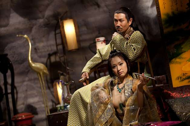 "The Prince of Ning (Tony Ho) and Dongmei (Yukiko Suou) in ""3D Sex & Zen: Extreme Ecstasy."" Photo: Courtesy Of China Lion Films"