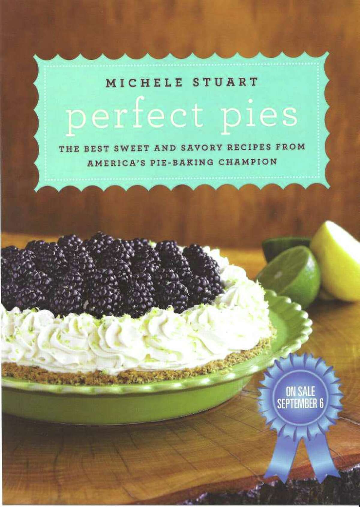 Stuart will sign her new cookbook at the Norwalk Library on Wednesday.
