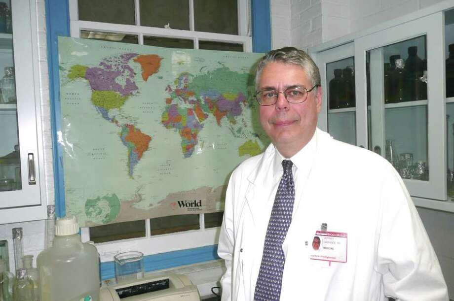 Dr. Jeffrey Laurence is director of the AIDS research laboratory at Weill Cornell Medical College in New York. He spoke to Greenwich Citizen recently about the latest developments in AIDS research and treatment. Photo: Contributed Photo