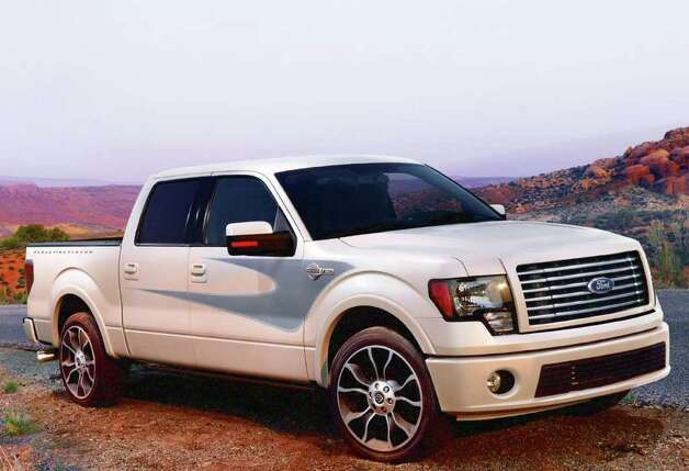 The 2012 Ford F-150 Harley-Davidson model pays homage to the iconic American motorcycle brand. It has new snakeskin leather interior accents. COURTESY OF FORD MOTOR CO. Photo: Ford Motor Co., COURTESY OF FORD MOTOR CO. / Ford